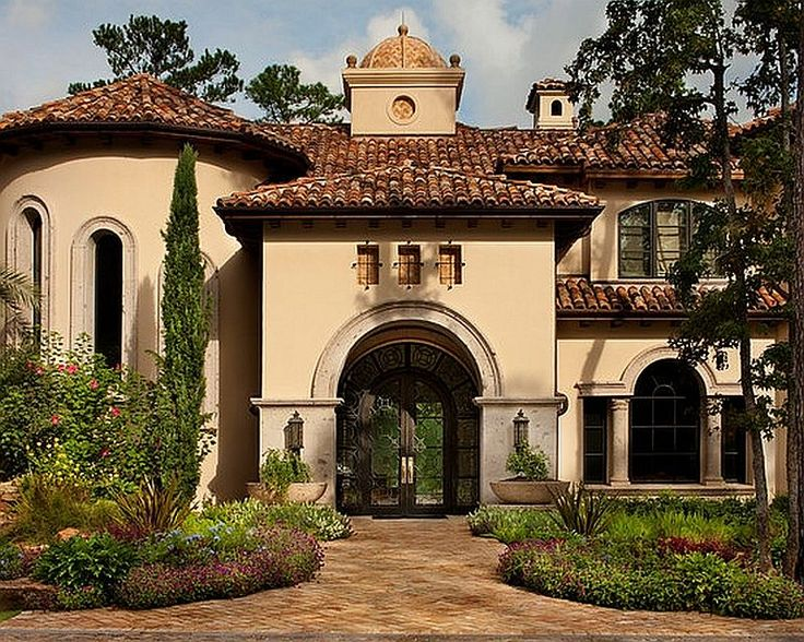Spanish And Mediterranean House Styles Simple 9 Hope Ranch Spanish ...