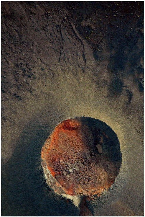 Piton de la Fournaise vu de haut, Ile de la Réunion | http://mesphotosderun.hautetfort.com/
