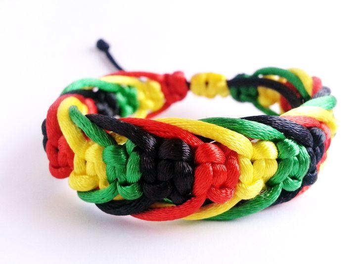 bracelets brésilens rasta