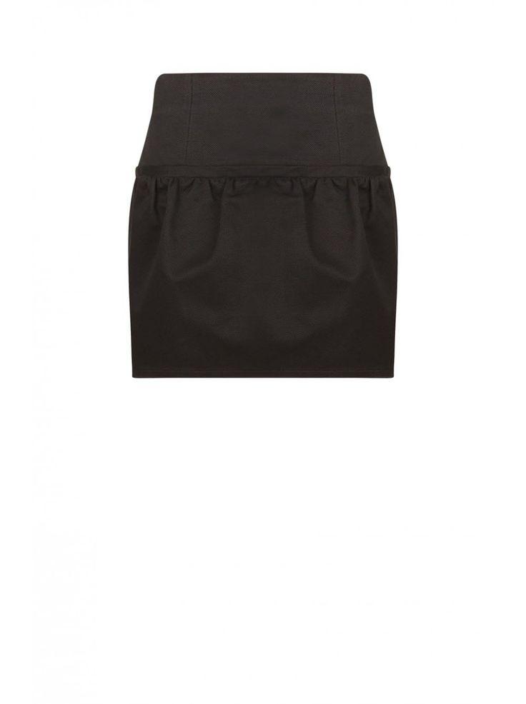 Jupe courte forme boule BLACK - Courtes Femme - NAF NAF