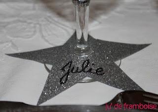 marque place étoile / star place card