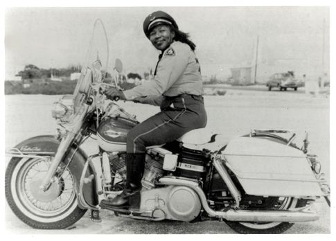 Jamaican Bessie Stringfield First Black Woman ride Motorcycle - AMA Hall of Fame