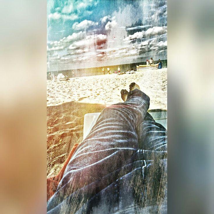 Leżę na plaży