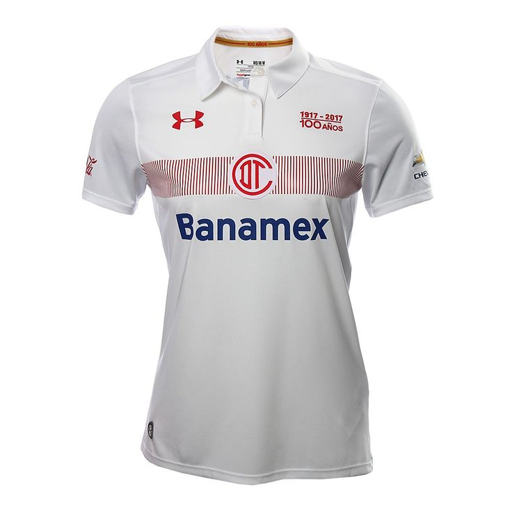 Deportivo Toluca FC (Mexico) - 2016/2017 Under Armour Away Shirt