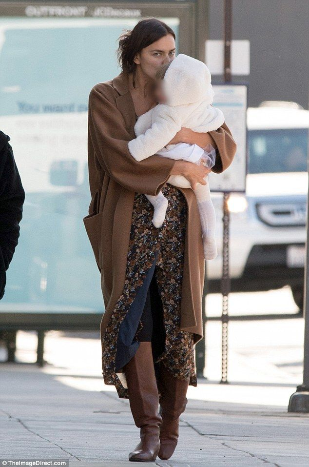 Wrap up in style with Irina's Max Mara coat #dailymail   Click 'Visit' to buy  now