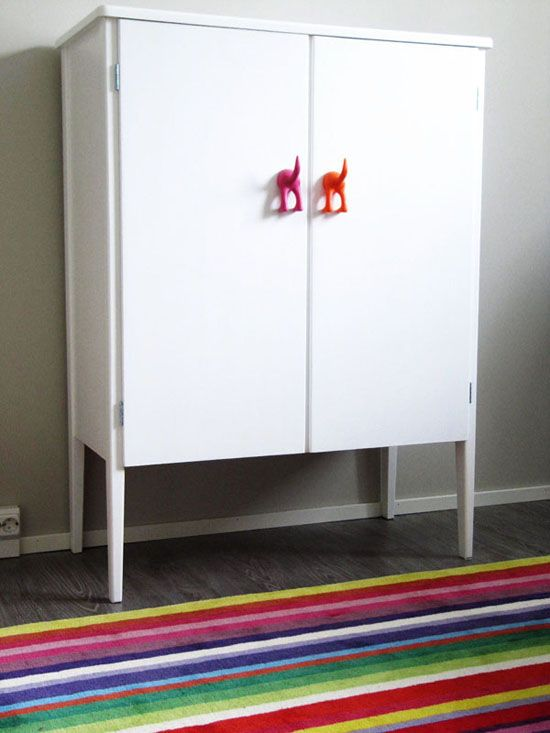 IKEA HACKS: for my lower laundry room cabinet