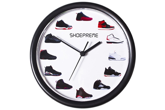 Air Jordan Shoepreme Wall Clock Jordan Pinterest