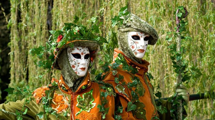 Beautiful! Carnevale masks from Venice