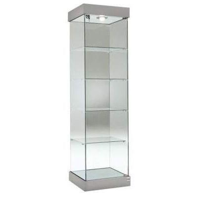 Single Width Glass Display Cabinets