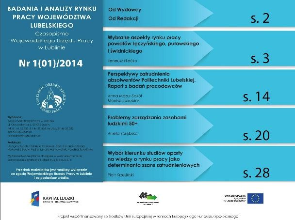 Przeczytaj z rodzicami w jakich zawodach można znaleźć zatrudnienie w regionie lubelskim