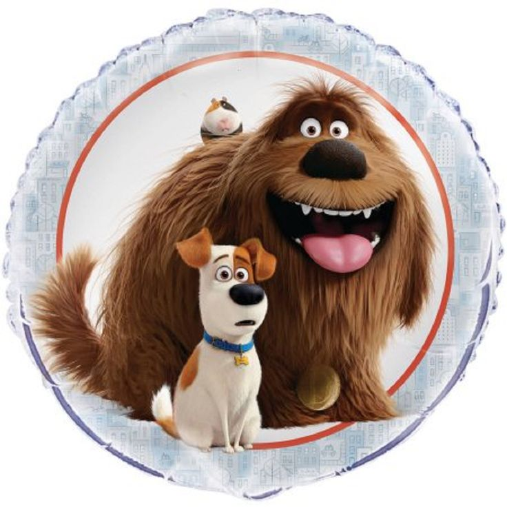 "18"" Foil The Secret Life of Pets Balloon"