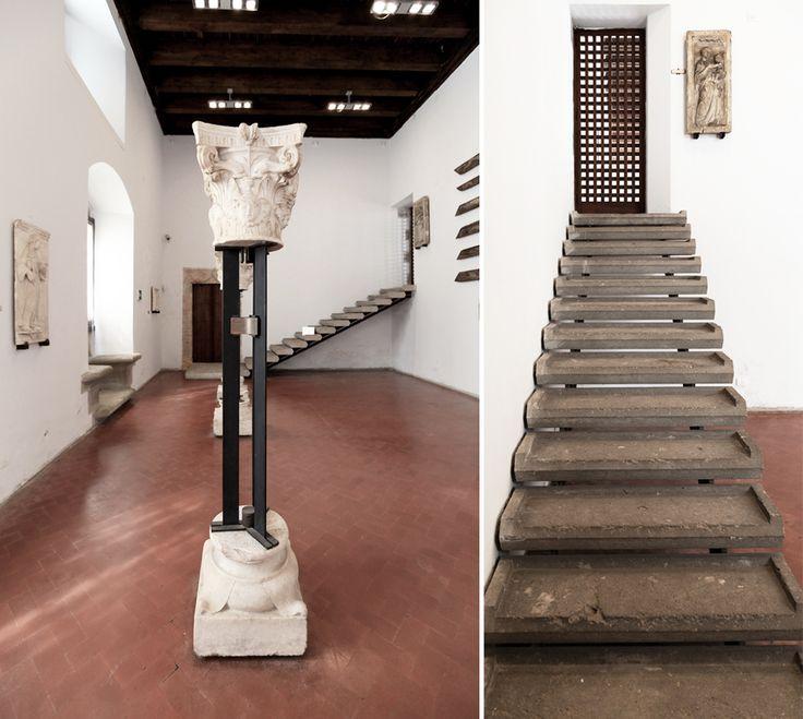 Carlo Scarpa (1906-1978)   Palazzi Abatellis e Steri   Palermo, Sicilia, Italia   1953-1972
