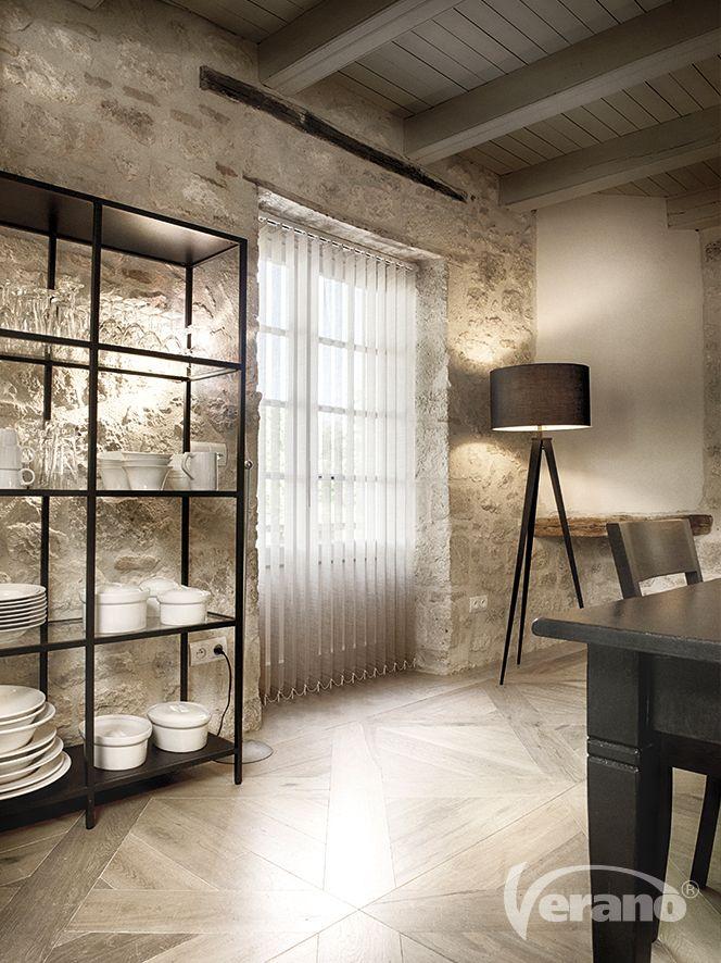 Verticale #lamellen zijn tijdloos en passen in ieder interieur! #Verano #verticalblinds