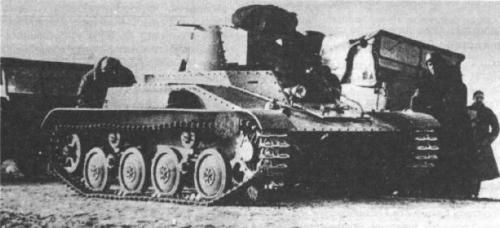 4TP - polish experimental light tank during trials. Prototype wasnt armed but constructors planned that main armament will be 20 mm automatic cannon wz. 38 FK-A. Second armament would be machine gun 7,92mm wz. 30