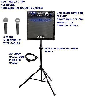 Portable Karaoke System Professional Karaoke System All in One Karaoke System