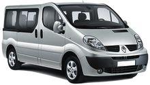 Kalabalık aileler için, İzmir Adnan Menderes Havalimanı 'nda Renault Trafic kiralama hizmeti... iZMiRCAR Araç Kiralama