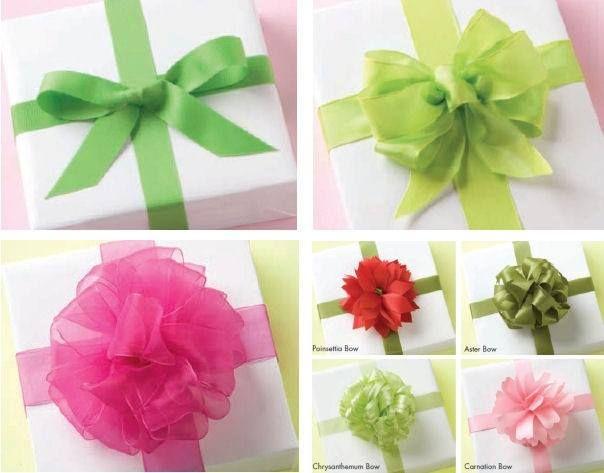 Guia para hacer lazos para regalos bolsas para regalo - Cinta para regalo ...
