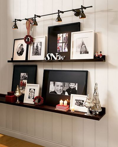 great idea for the big empty wall space between dining room and living room