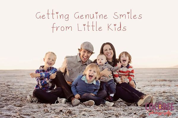 how to get a genuine smile out of little kids - photography tip