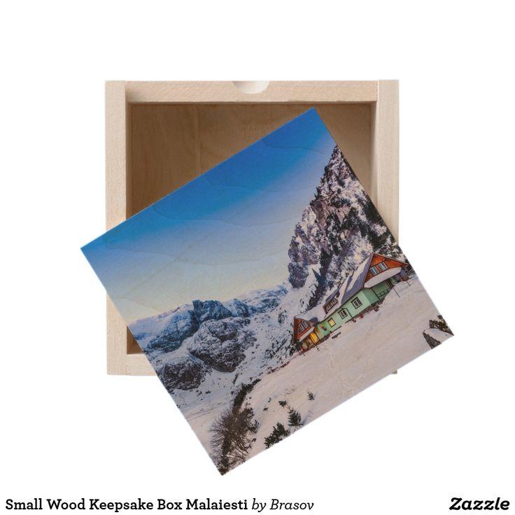 Small Wood Keepsake Box Malaiesti
