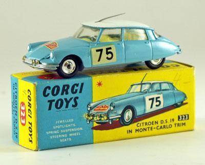 Corgi Toys Citroen Mont Carlo Rally 321