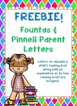 It is so important to keep parents in the loop, especially regarding their child's reading progress. This product includes letters to send home to parents after testing reading levels. Each letter explains how reading levels are tested, where their child tested, and the expectations for that point in the year.