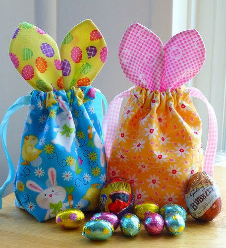 Easter Bunny Bags tutorial - Judith Hollies
