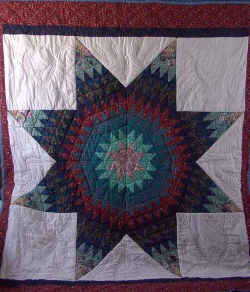 137 Best Images About Native American Star Quilt On