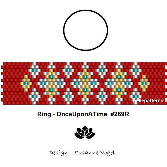 10876 best patterns images on pinterest bead weaving loom beading details onceuponatime peyote ring pattern the ring length is adjustable size cm x cm x odd count beads miyuki delica coupons codes fandeluxe Images