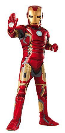 Avengers 2 Iron Man Muscle Chest Costume