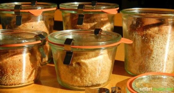 Brot im Glas backen – lange haltbar und immer frisch