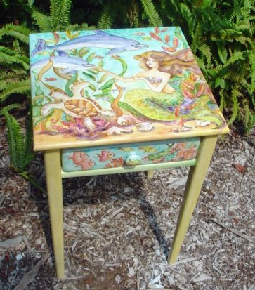 tropical painted furniture. painted furniture by sissi janku tropical