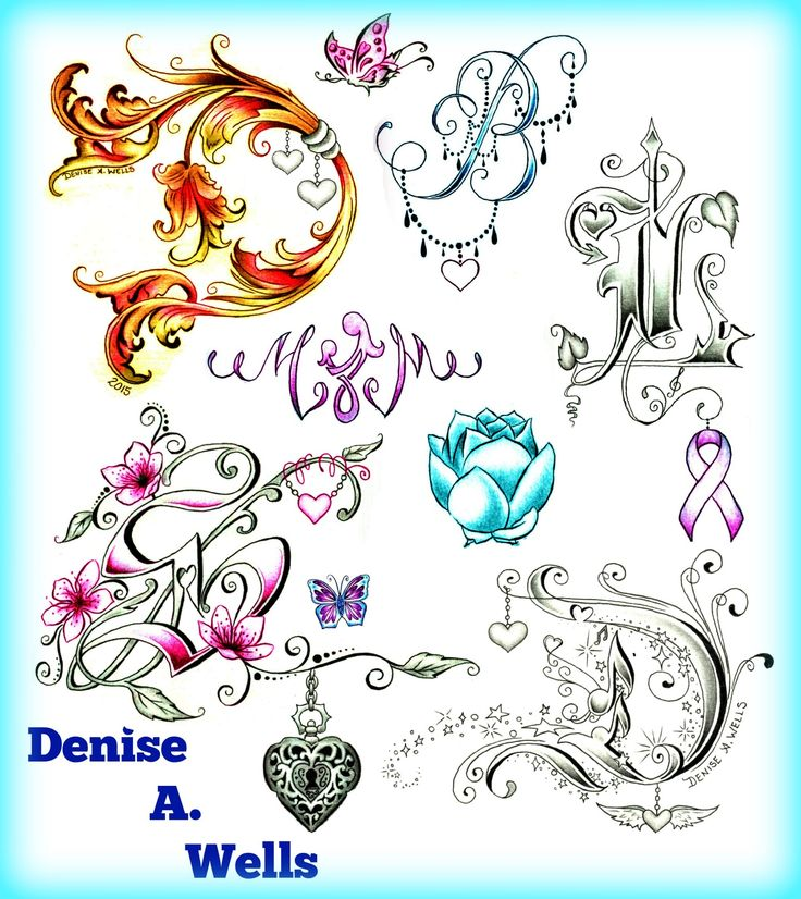 Tattoo Designs P Letter: 100+ Ideas To Try About Tattoo Designs By Denise A. Wells