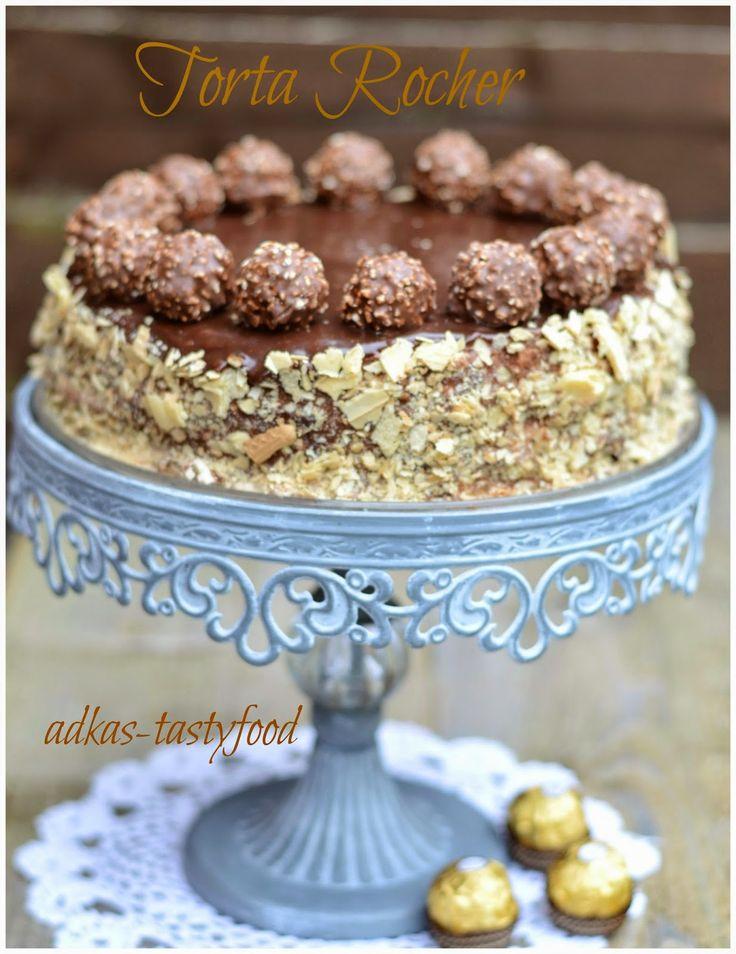 .. chute a vône mojej kuchyne...: Torta Rocher