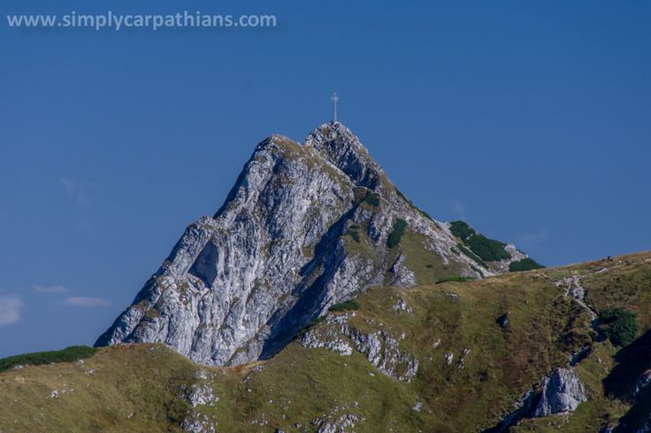 Mountain Giewont towering above Zakopane.