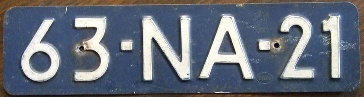 Nederlands nummerbord