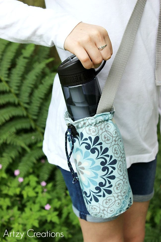 Water-Bottle-Holder-with-Free-Pattern-Artzy Creations 12