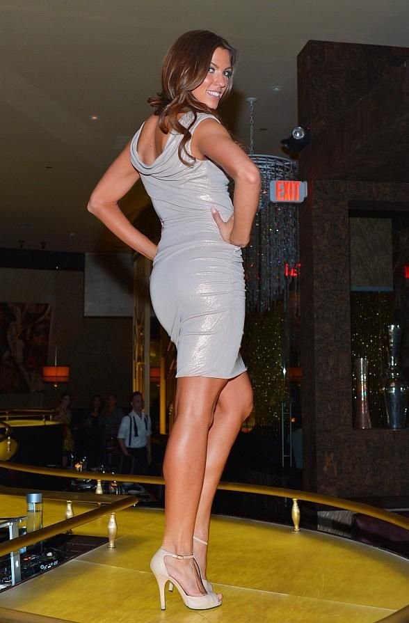 Fabrik Fridays, a weekly tribute to fashion at SHe by Morton's inside The Shops at Crystals, announces the fall fashion show lineup. The new dates will feature shows by Eccoci, Beach Bash and Halloween Mart featuring Coquette (Photo credit: Jeff Ragazzo).