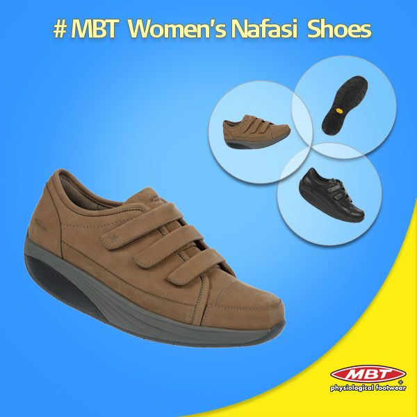 MBT Nafasi S Strap Fango for womens Available in Fango; or with full grain leather uppers in Black or White