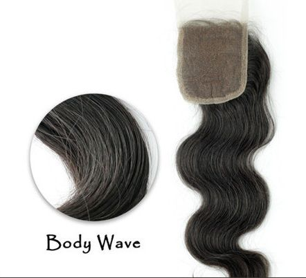 Find More Lace Closure Information about Body Wave Vir gin Hair Closure 4X4 No…