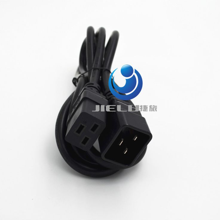 10 pcs/l C19 C20 Power Cord Server UPS Power Cable C19 Female to C20 Male  power supply cord 3X2.08mm square Power Wire 16A/250V