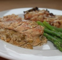 Chicken & Leek in Dijonnaise Sauce (aka I got Jamie Oliver'd)
