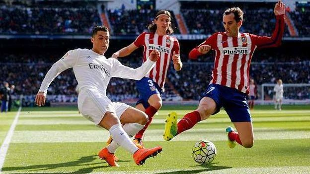 En directo: Atletico de Madrid - Real Madrid