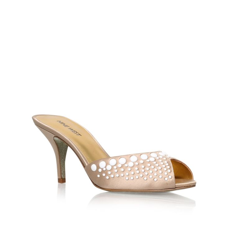 Nine West Olympia22 mid heel court shoes