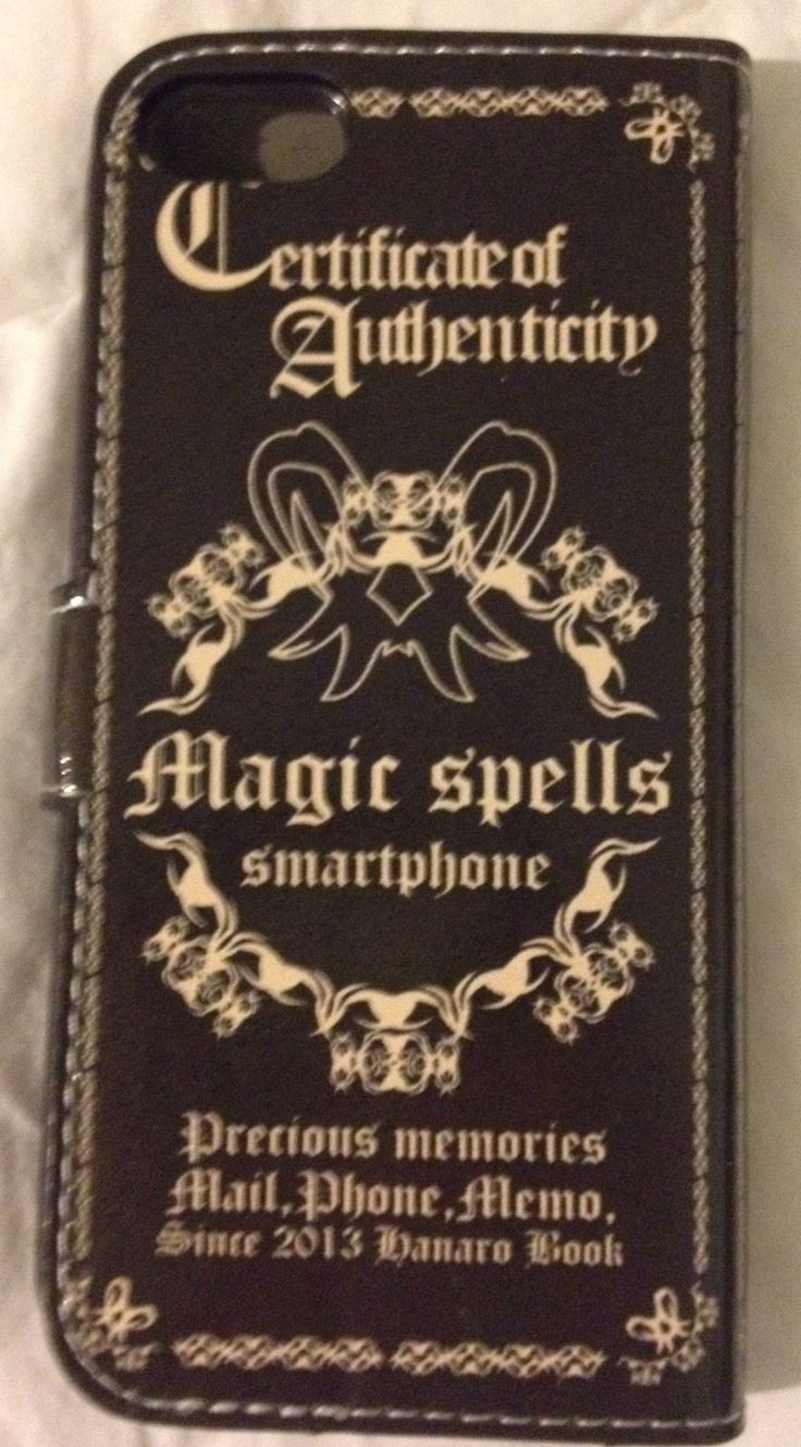 Book Of Shadows Spells Magic iPhone 5G Case Cover NEW 2