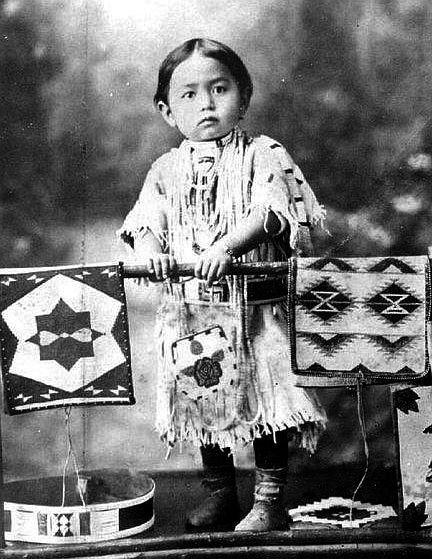 Nez Perce girl~1915.