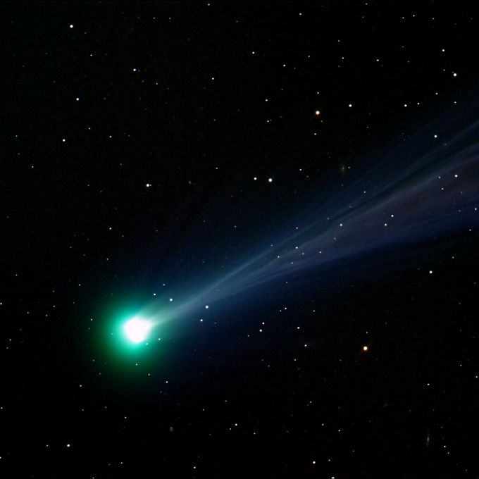 What is a comet a comet is a very small solar system body for What is outer space made of