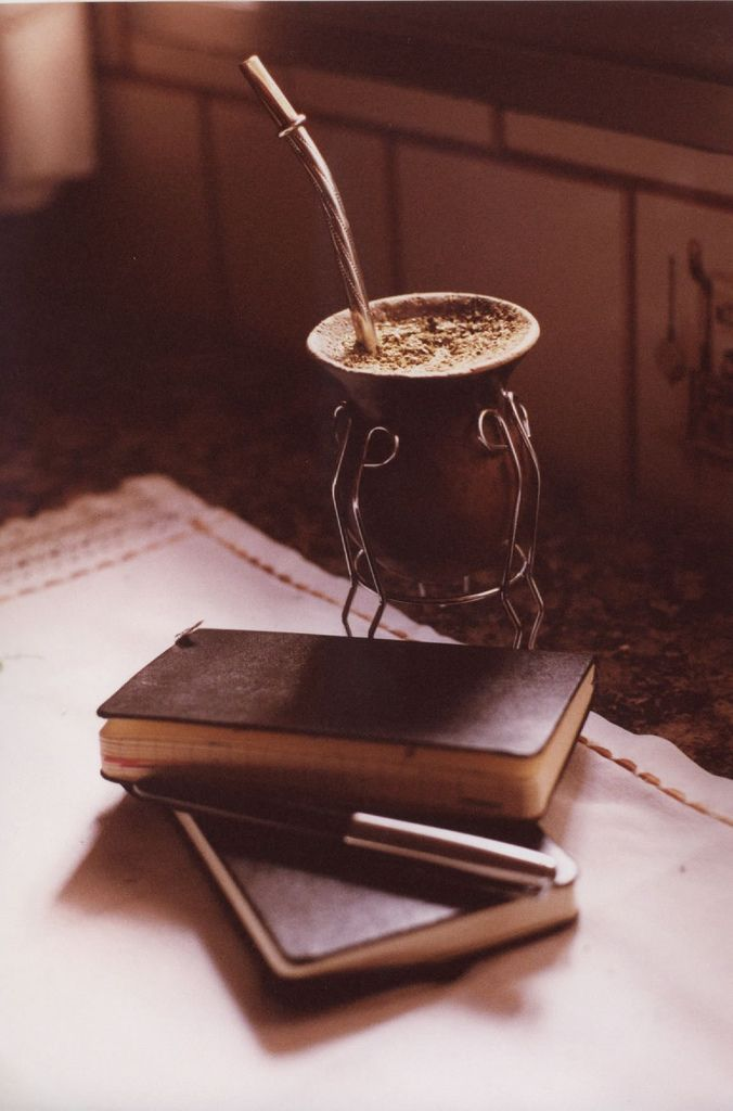 Awesome. I love to brew up some fresh Mate, take my pen and journal out, and get to writing. I find that I'm extremely creative with Mate, and that my thoughts flow more easily from my mind to the paper. If I'm not writing, I'll be reading. And the calm that Mate gives me serves as a guide and friend throughout the texts that I engage.