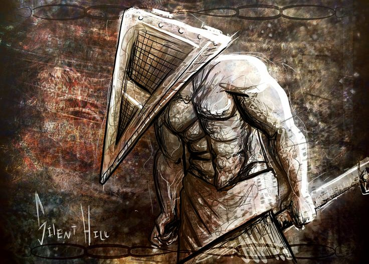 17 best images about pyramid head silent hill nurses alessa on pinterest silent hill - Pyramid head boss fight ...