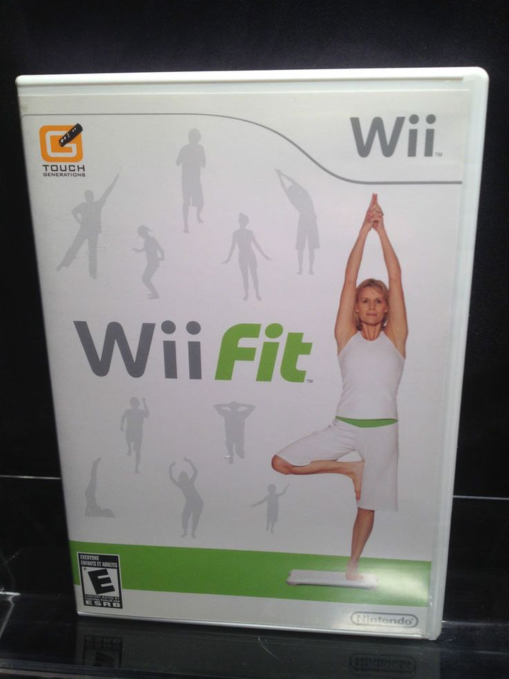 Wii Fit for Nintendo Wii- Game Only. ( works on Wii U )